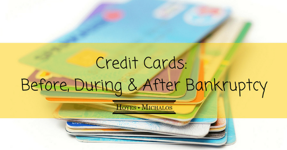 Credit Cards: Before, During and After Bankruptcy (or Proposal)