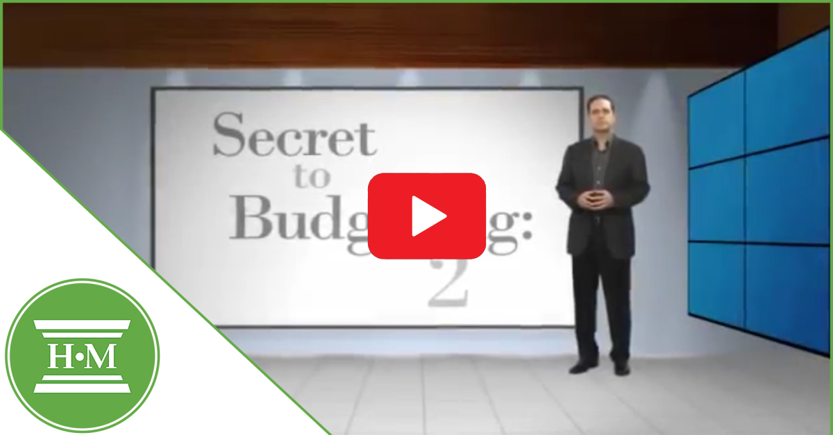 Secret to budgeting two video play thumbnail