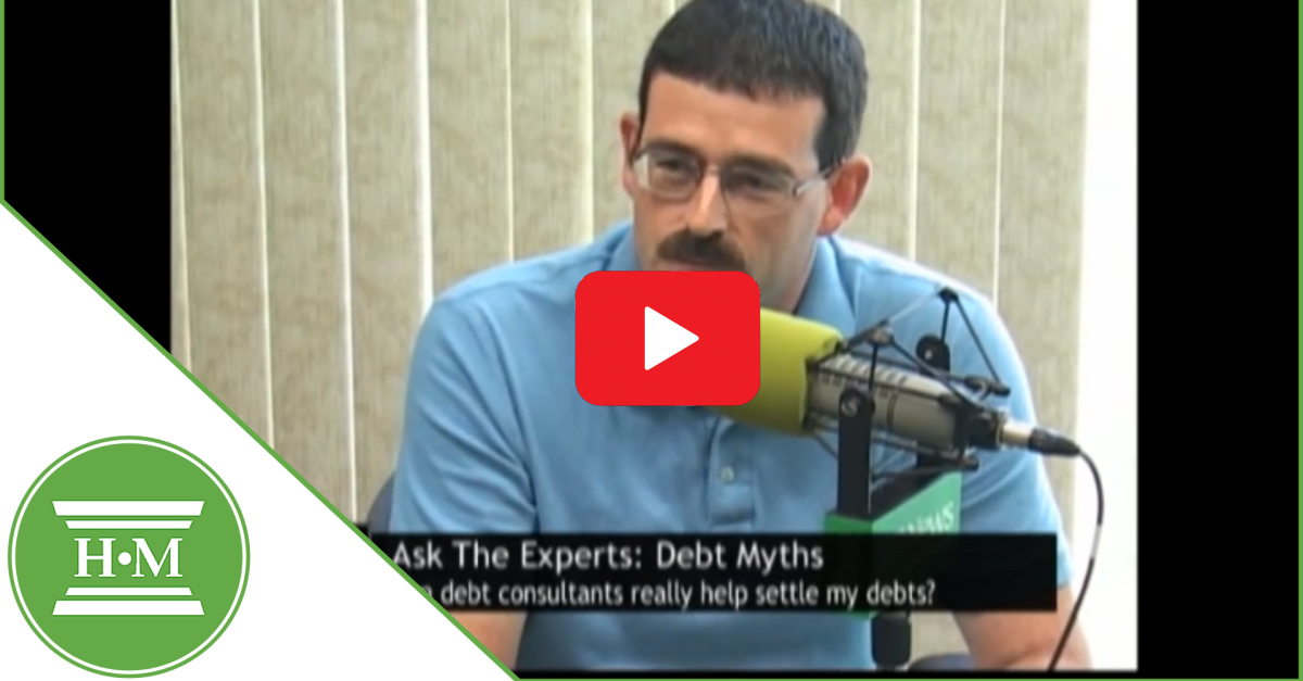 Debt consultants cannot solve debt issues video play thumbnail
