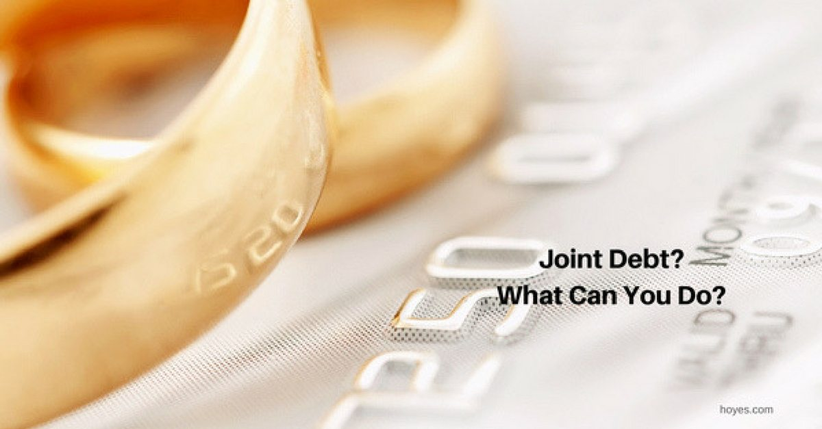 Joint Consumer Proposal: Dealing With Joint Debt