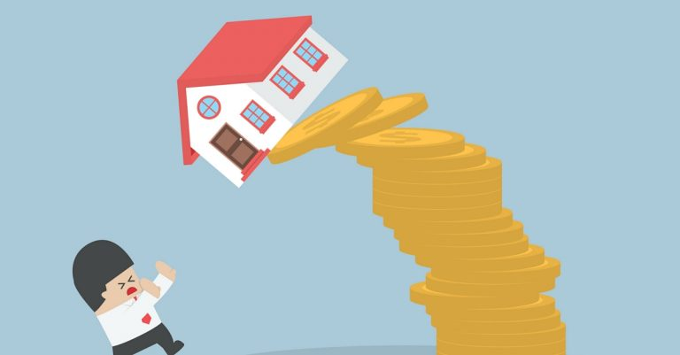 What Happens To Debt When House Prices Fall?