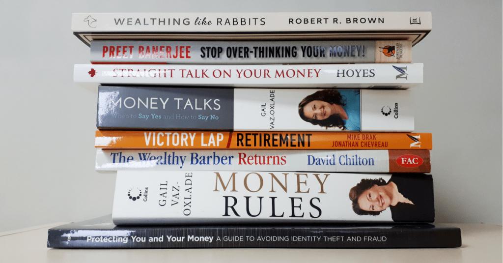 Top 10 personal finance books canada