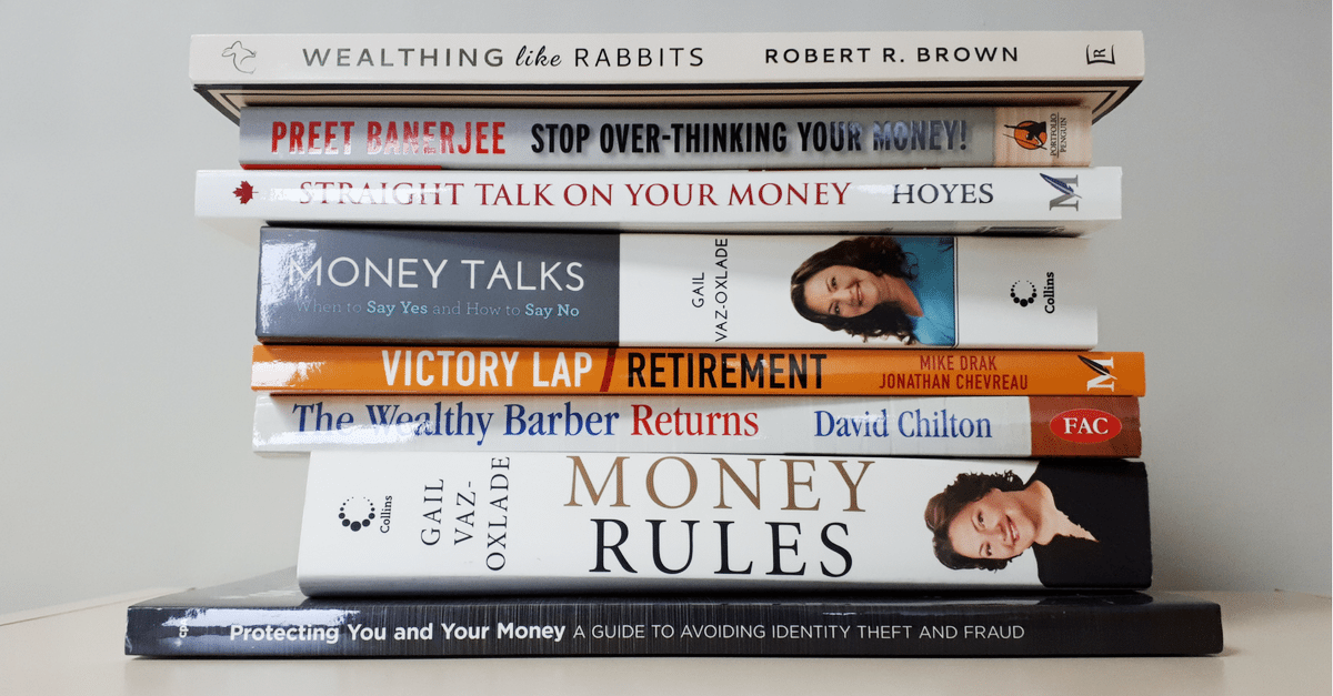 Top 10 personal finance books canada