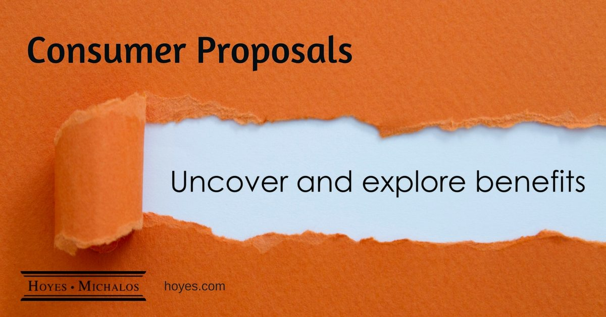 Pros and Cons of Filing a Consumer Proposal | Hoyes Michalos