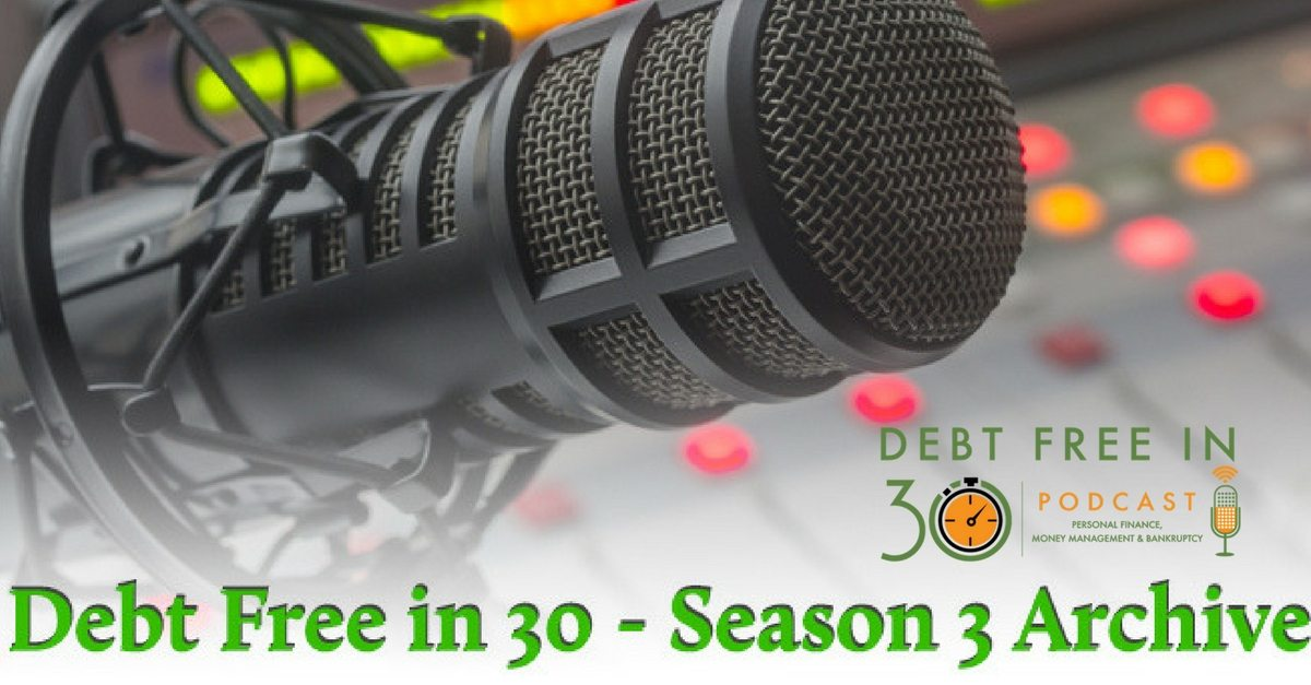 Debt Free in 30 Season 3 Episodes