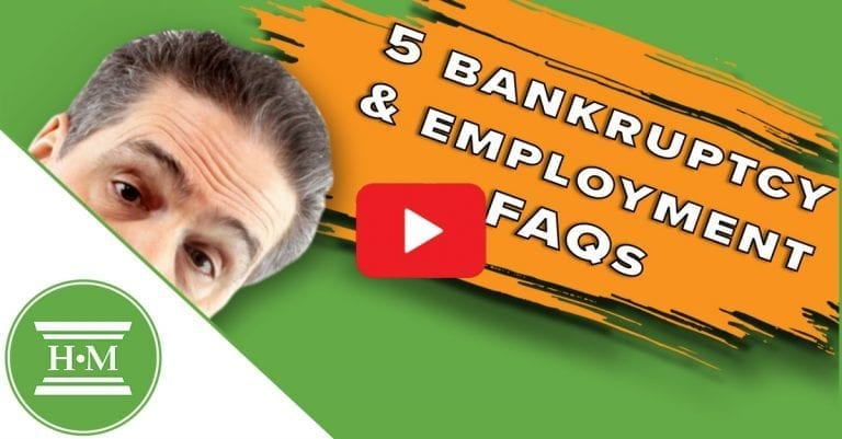 Will Bankruptcy or Consumer Proposal Affect My Employment?