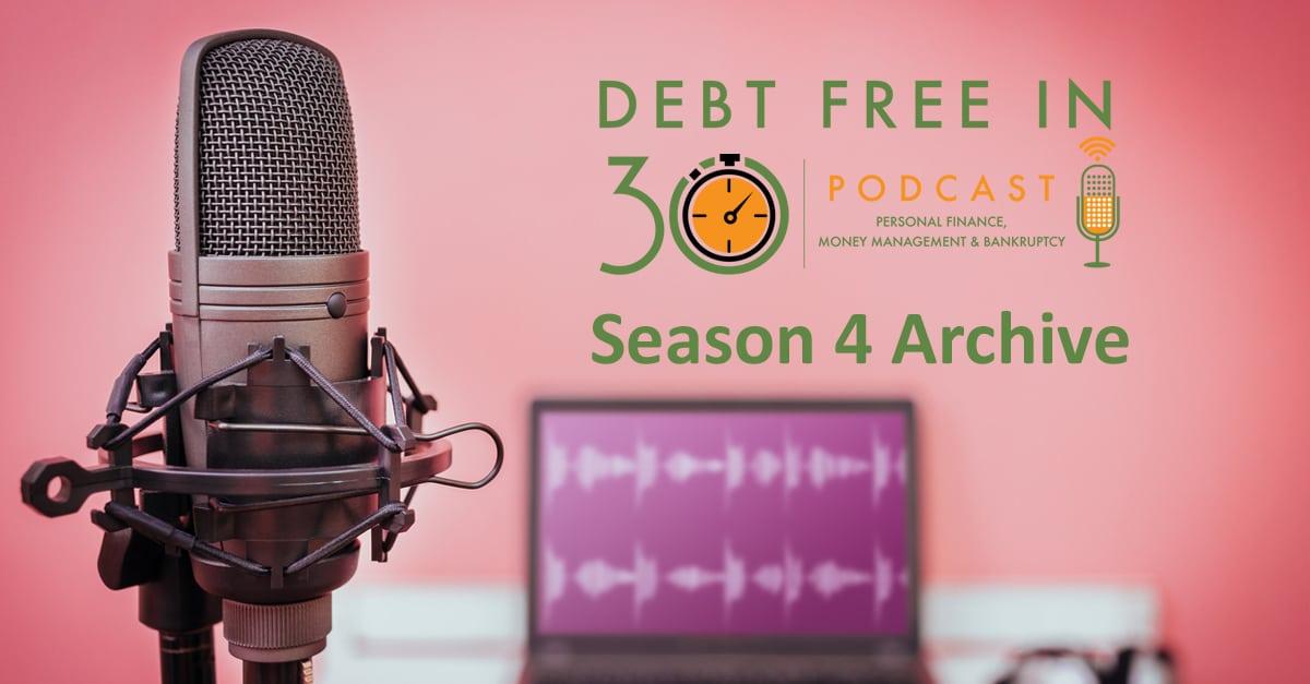 debt free in 30 season 4 archive