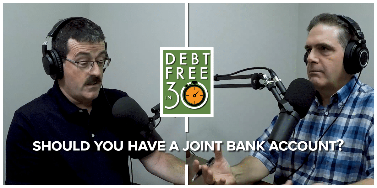 should you have a joint bank account