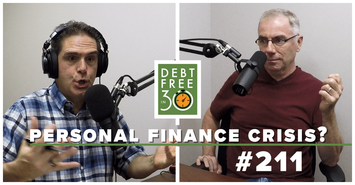 are you having a personal financial crisis