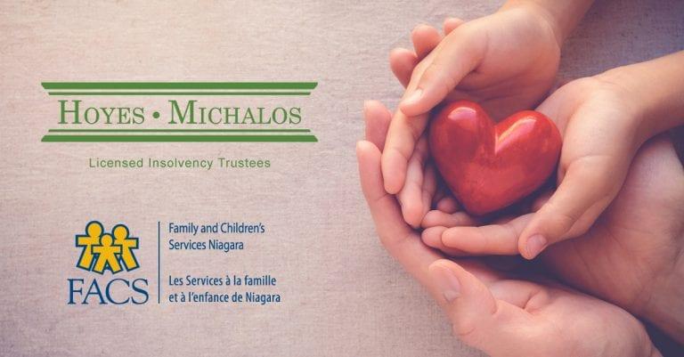 Hoyes Michalos Gold Sponsor FACS Niagara Gala