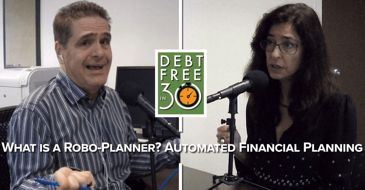 what is a robo planner? automated financial planning