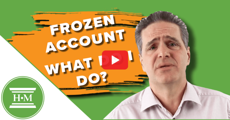 Frozen Bank Account. Your Rights and What To Do Next