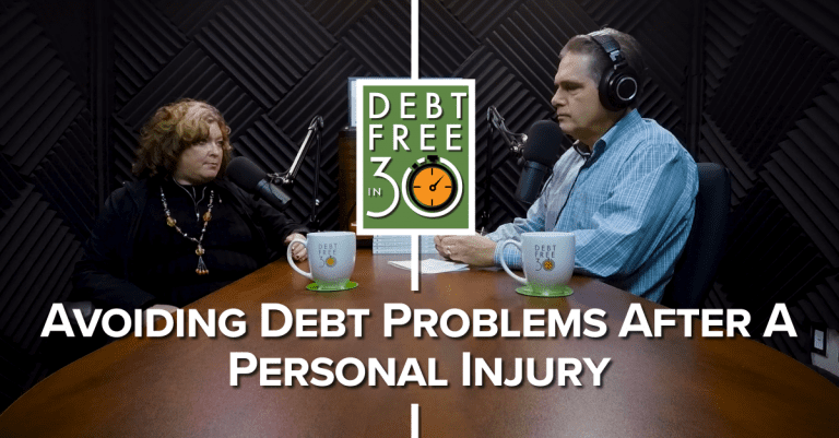 avoiding debt after a personal injury