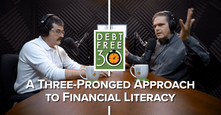 a three pronged approach to financial literacy