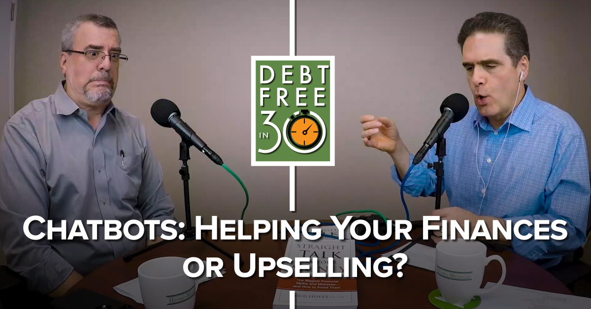 Chatbots- Helping your Finances or Upselling?