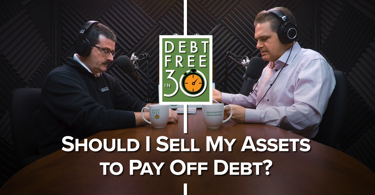 Should I Sell My Assets to Pay Off Debt?