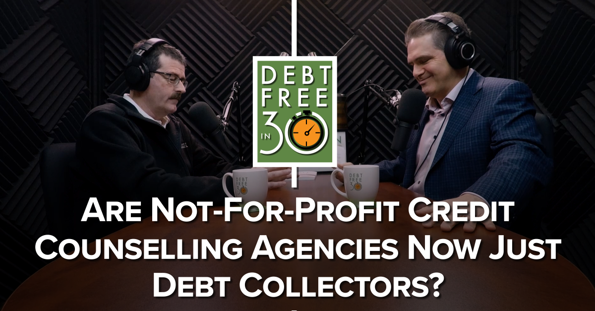 credit counselling agencies are just debt collectors