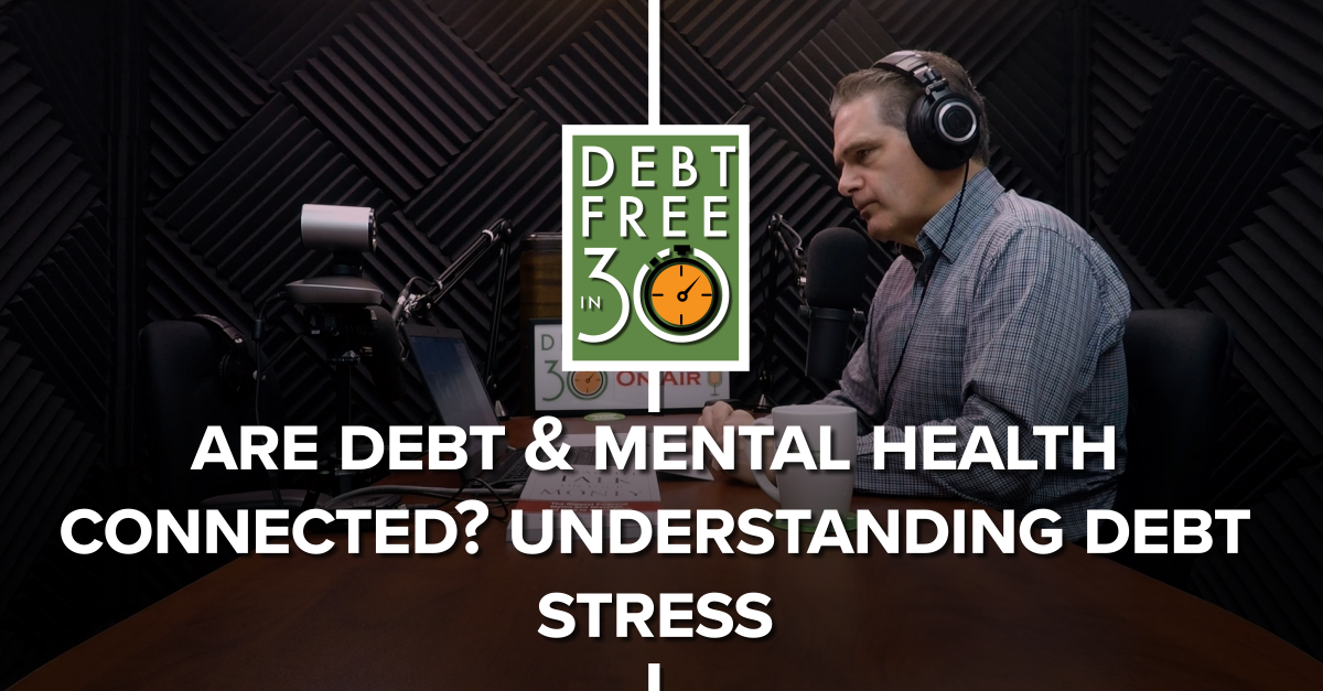 are debt and mental health connected? understanding debt stress