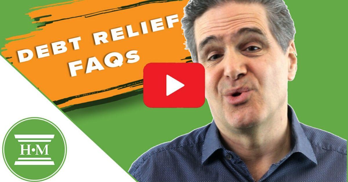 Debt Relief FAQ Video Thumbnail