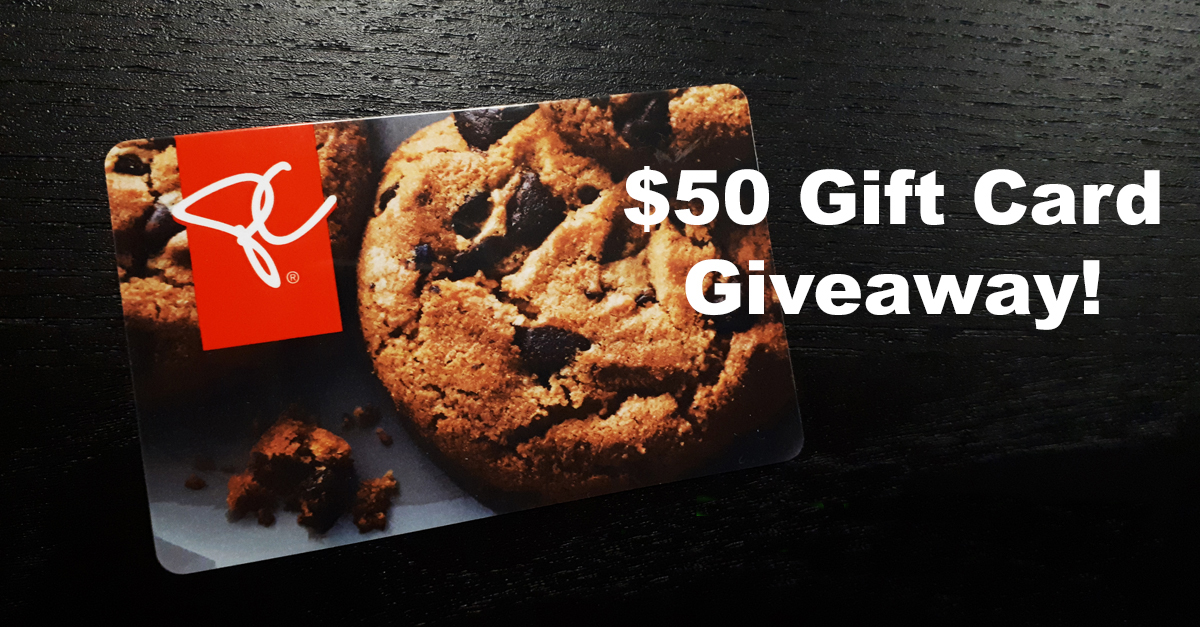 PC Gift Card giveaway announcement