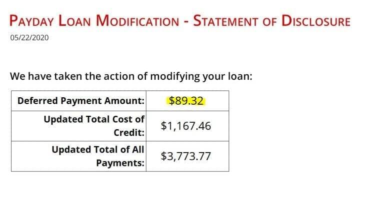Beware The Payday Loan Modification Trap