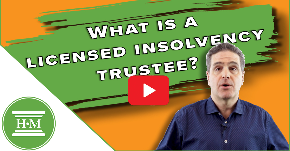 What is licensed insolvency trustee video play thumbnail