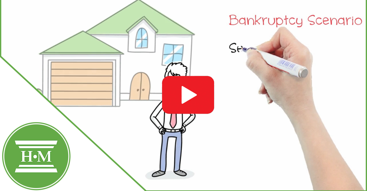 What happens to my house in a bankruptcy video thumbnail