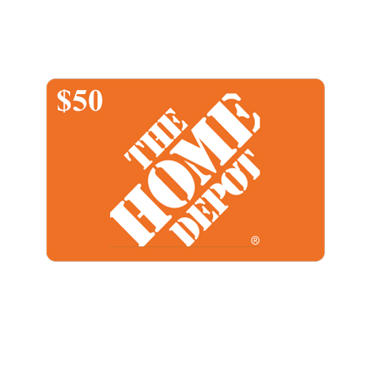 Home depot $50 gift card