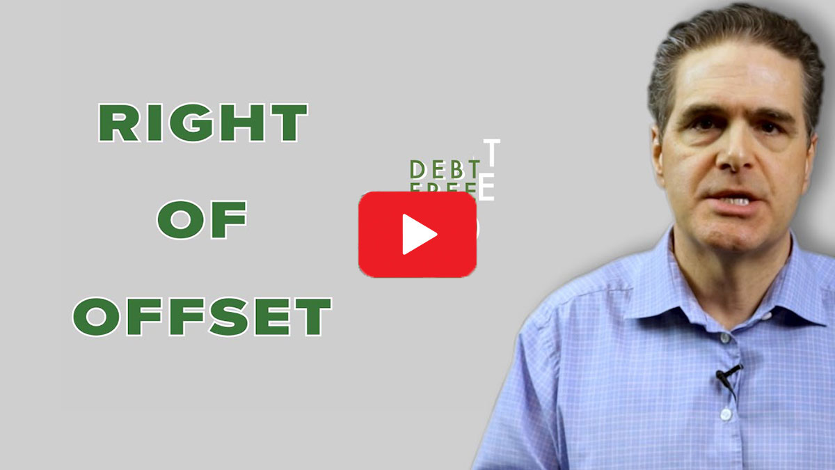 What is right of offset video play thumbnail