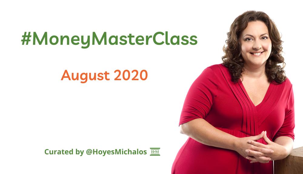 Thumbnail Image of #MoneyMasterClass Tweets: August 2020
