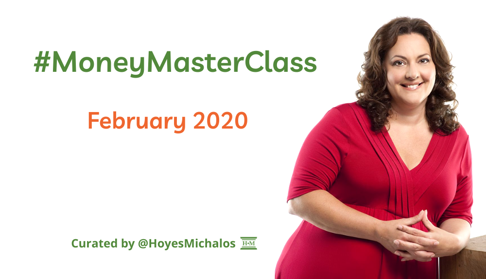 Thumbnail Image of #MoneyMasterClass Tweets: February 2020