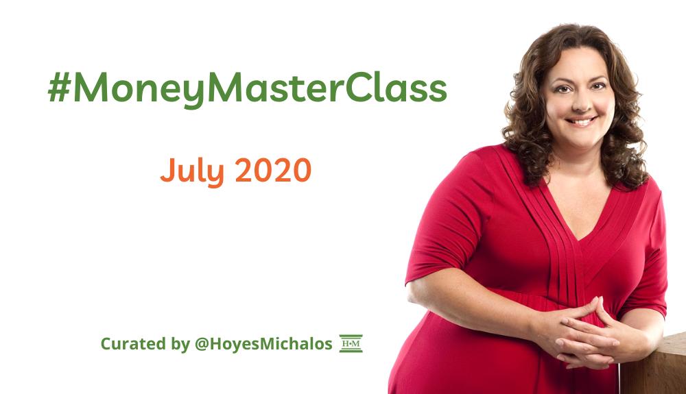 Thumbnail Image of #MoneyMasterClass Tweets: July 2020