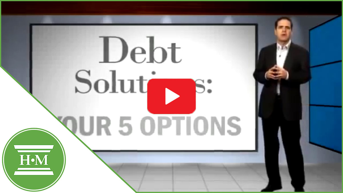 Debt Solutions 5 different options video thumbnail