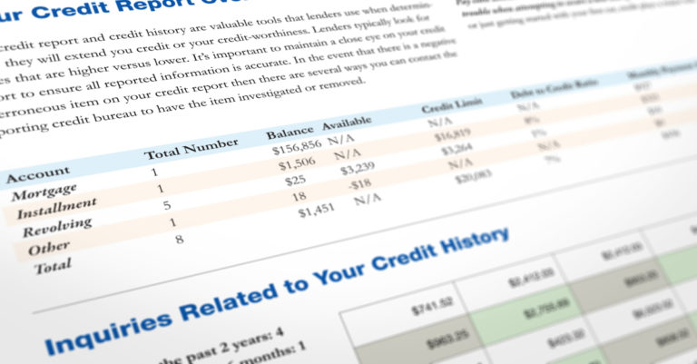 How Long Does Negative Information Affect Your Credit Report?