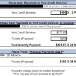 York Credit Services Contract Review