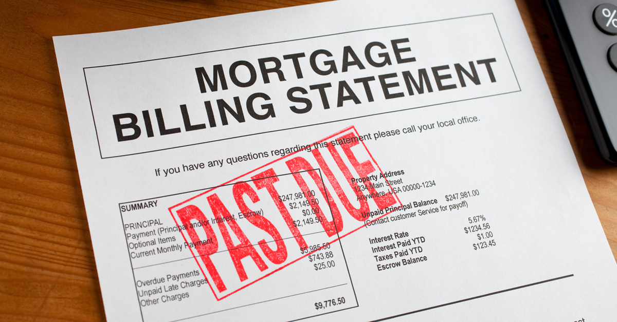 What To Do If Your Mortgage Is In Arrears